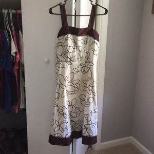 R & K  Floral Dress with Straps